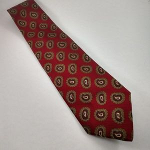 Hugo Boss men's silk Italian tie with flaws